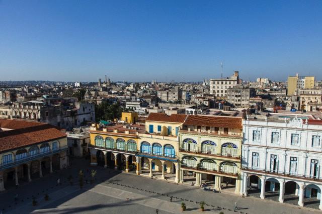 Plaza Vieja, Habana Vieja, Havana, Cuba