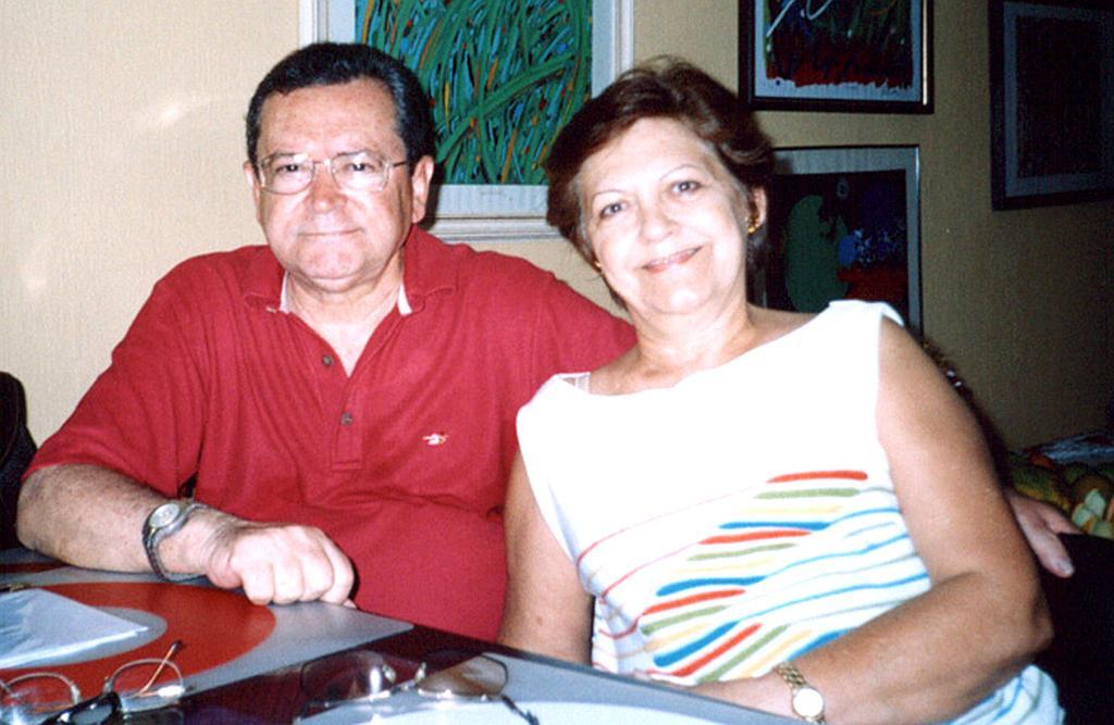 Raulindo Naves e Ana Eulália de Souza Naves