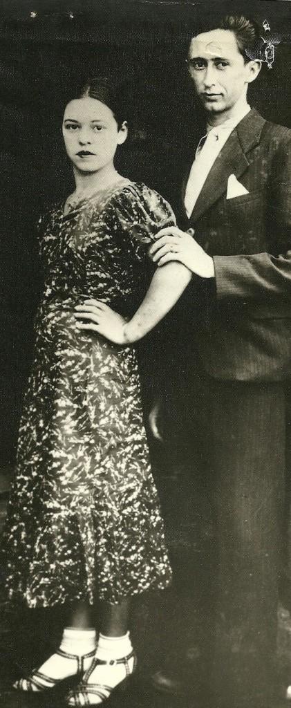 Maria Luíza e José Naves Júnior, em 1938
