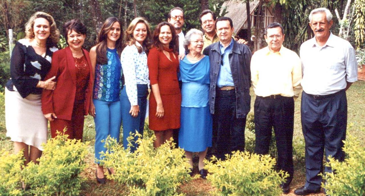 Maria Luíza e os 10 filhos