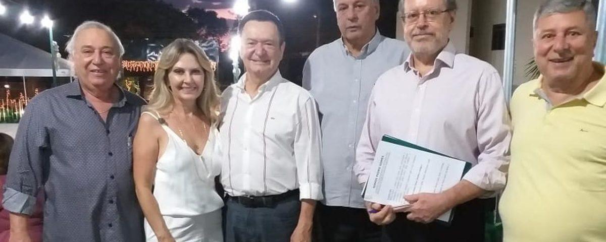 Presenças na cerimônia de entrega da Medalha do Mérito 'Somos Pedro Gomes'